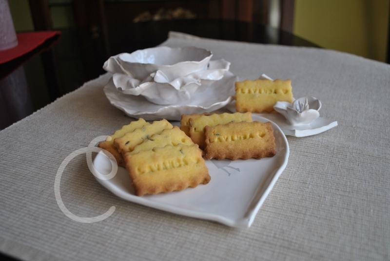 Biscottini alla lavanda - La Cucina Incantata